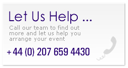 call event organisation experts